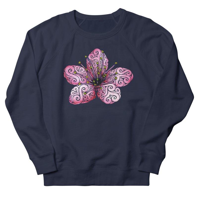 Swirly Cherry Blossom Women's Sweatshirt by VectorInk's Artist Shop