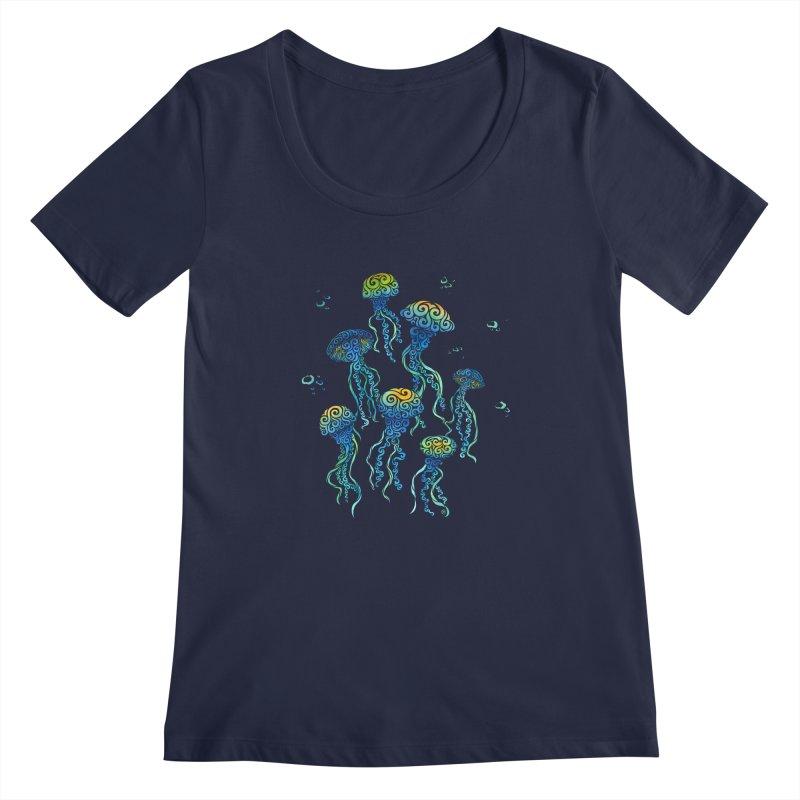 Swirly Jellyfish   by VectorInk's Artist Shop