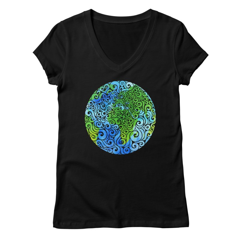 Swirly Earth   by VectorInk's Artist Shop