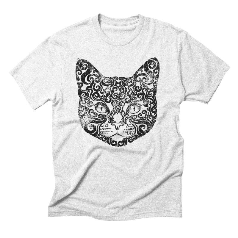 Swirly Cat Portrait 1   by VectorInk's Artist Shop