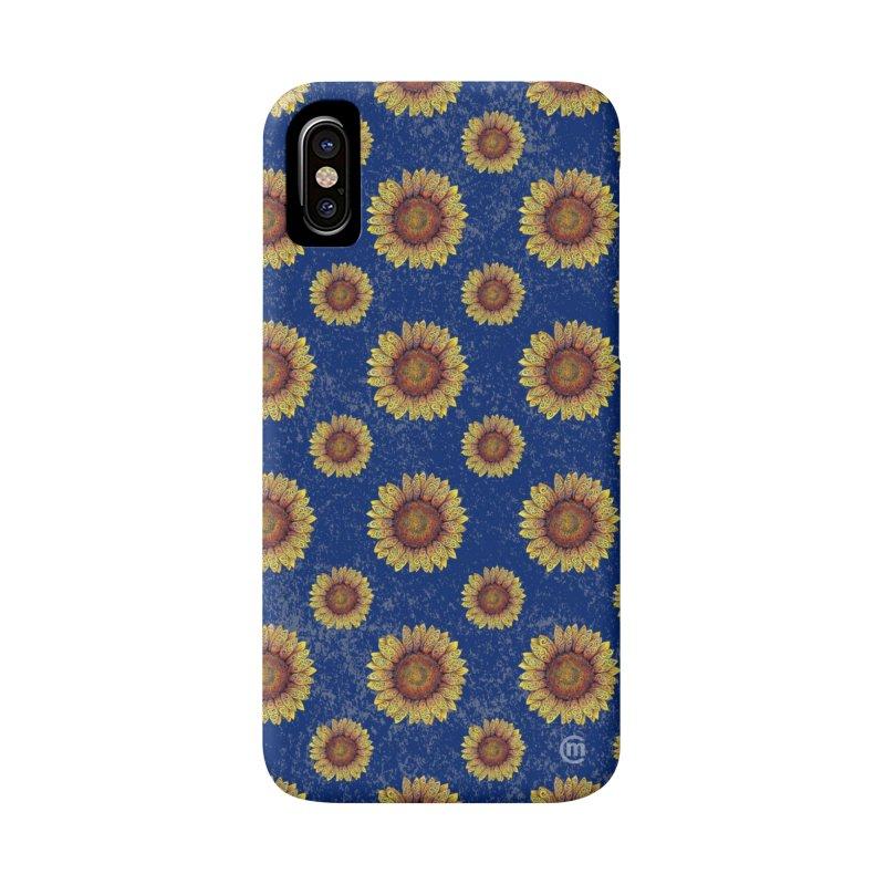 Swirly Sunflower Accessories Phone Case by VectorInk's Artist Shop