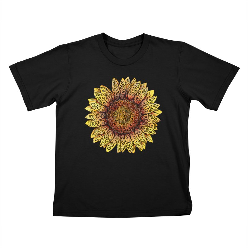 Swirly Sunflower   by VectorInk's Artist Shop
