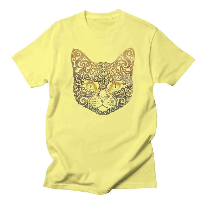 Swirly Cat Portrait 2   by VectorInk's Artist Shop