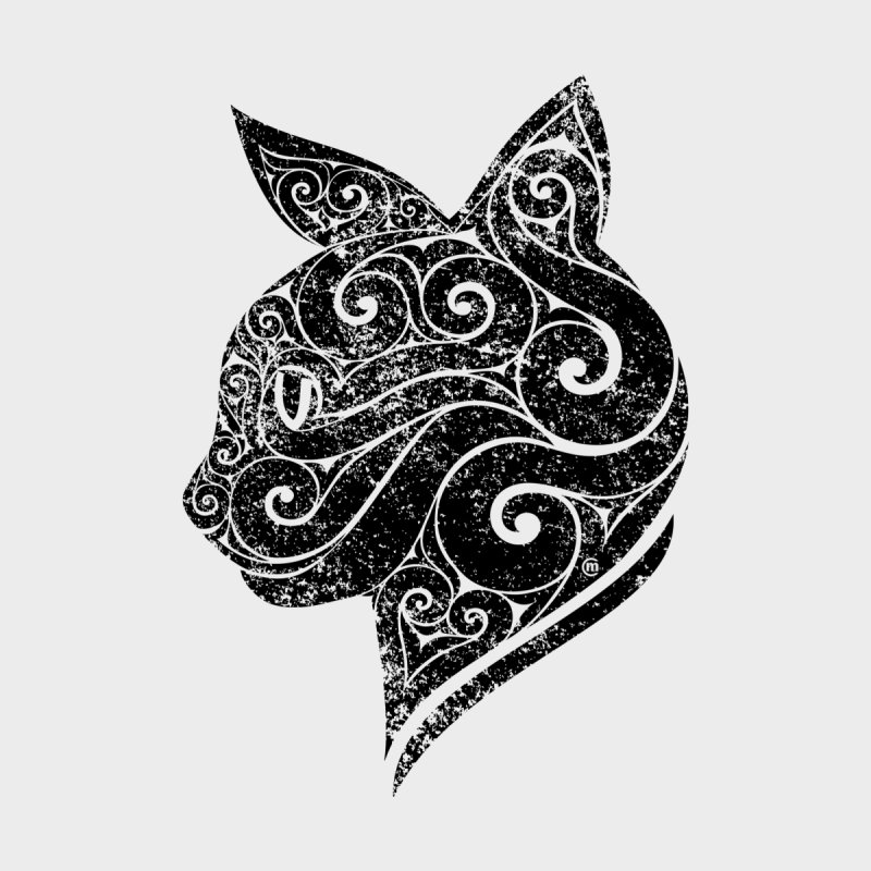 Swirly Cat Portrait 3 by VectorInk's Artist Shop
