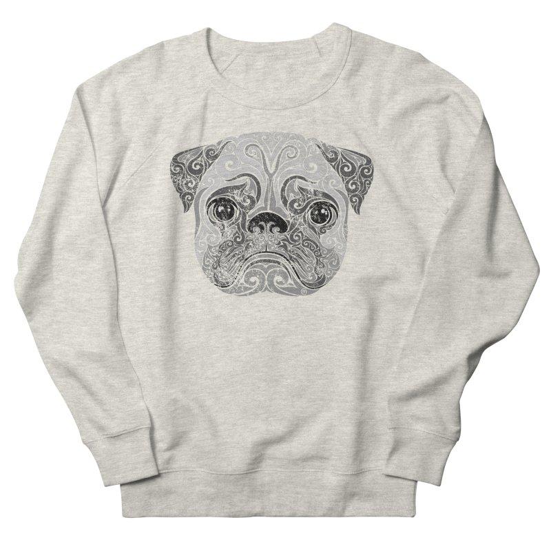 Swirly Pug Women's Sweatshirt by VectorInk's Artist Shop