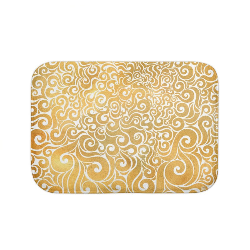 Swirly Lion Home Bath Mat by VectorInk's Artist Shop
