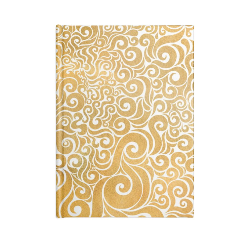 Swirly Lion Accessories Notebook by VectorInk's Artist Shop