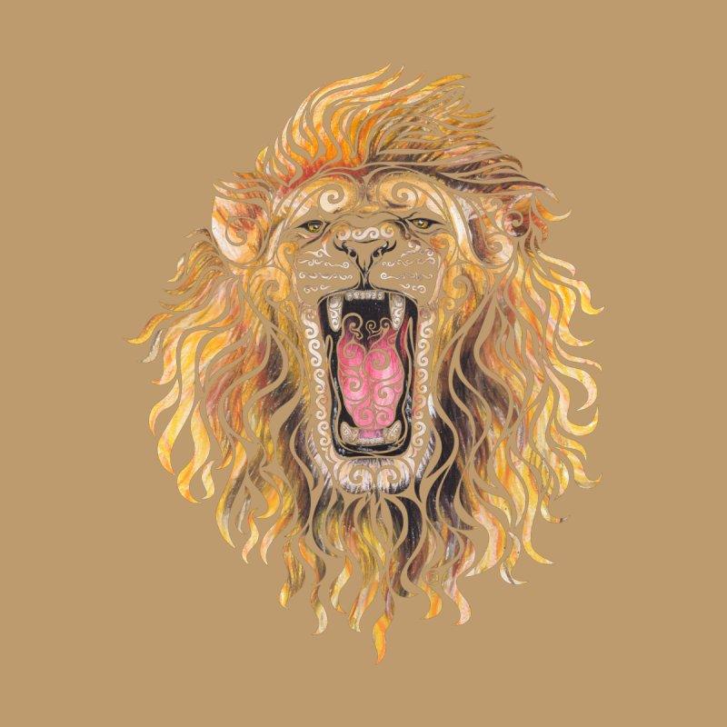 Swirly Lion by VectorInk's Artist Shop