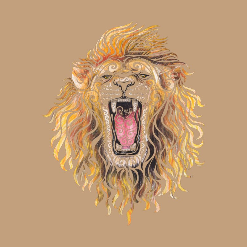 Swirly Lion None  by VectorInk's Artist Shop