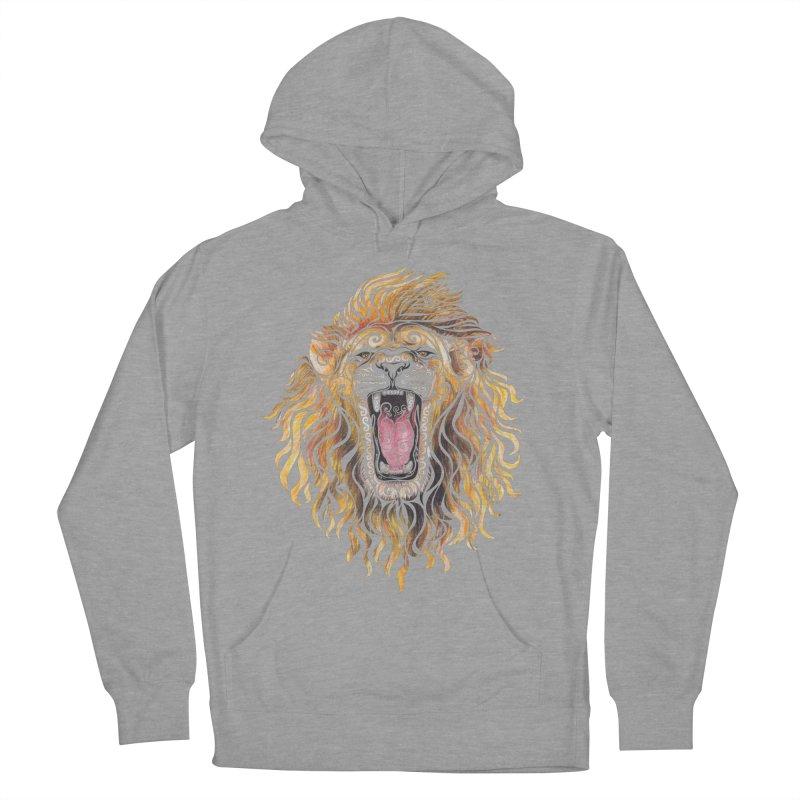 Swirly Lion Women's Pullover Hoody by VectorInk's Artist Shop