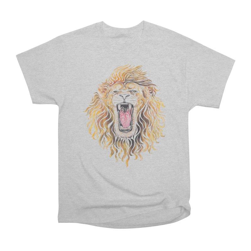 Swirly Lion Men's Classic T-Shirt by VectorInk's Artist Shop