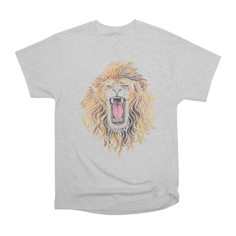 Swirly Lion Women's Classic Unisex T-Shirt by VectorInk's Artist Shop