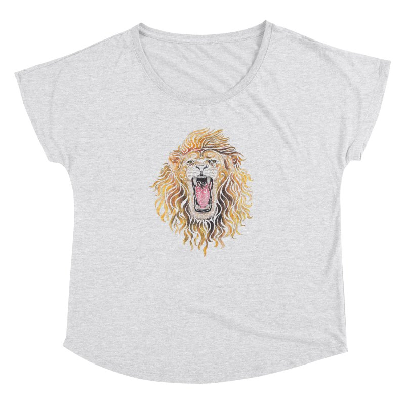 Swirly Lion Women's Dolman by VectorInk's Artist Shop