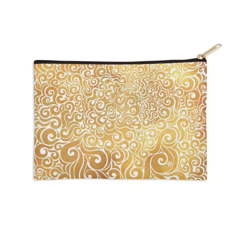 Swirly Lion Accessories Zip Pouch by VectorInk's Artist Shop