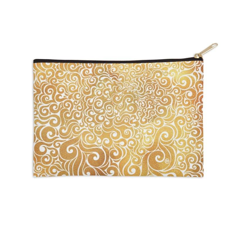 Swirly Lion Accessories Zip Pouch by VectorInk's Artist Shop