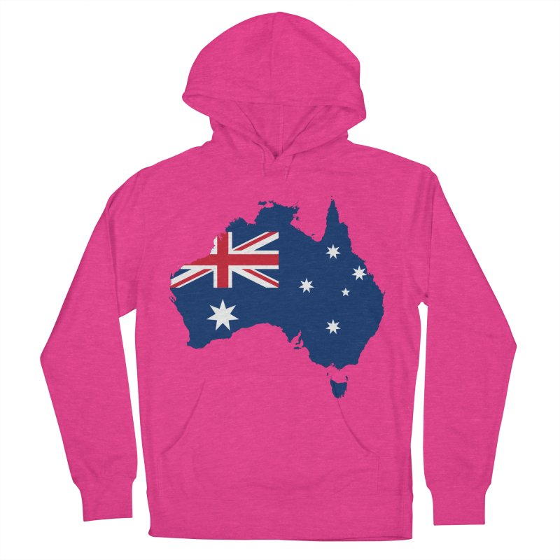Australian Patriot Apparel & Accessories Men's French Terry Pullover Hoody by Vectors NZ