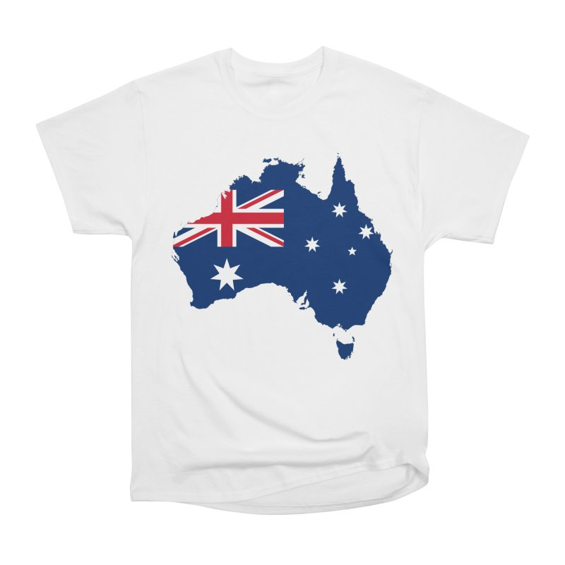 Australian Patriot Apparel & Accessories Men's Heavyweight T-Shirt by Vectors NZ