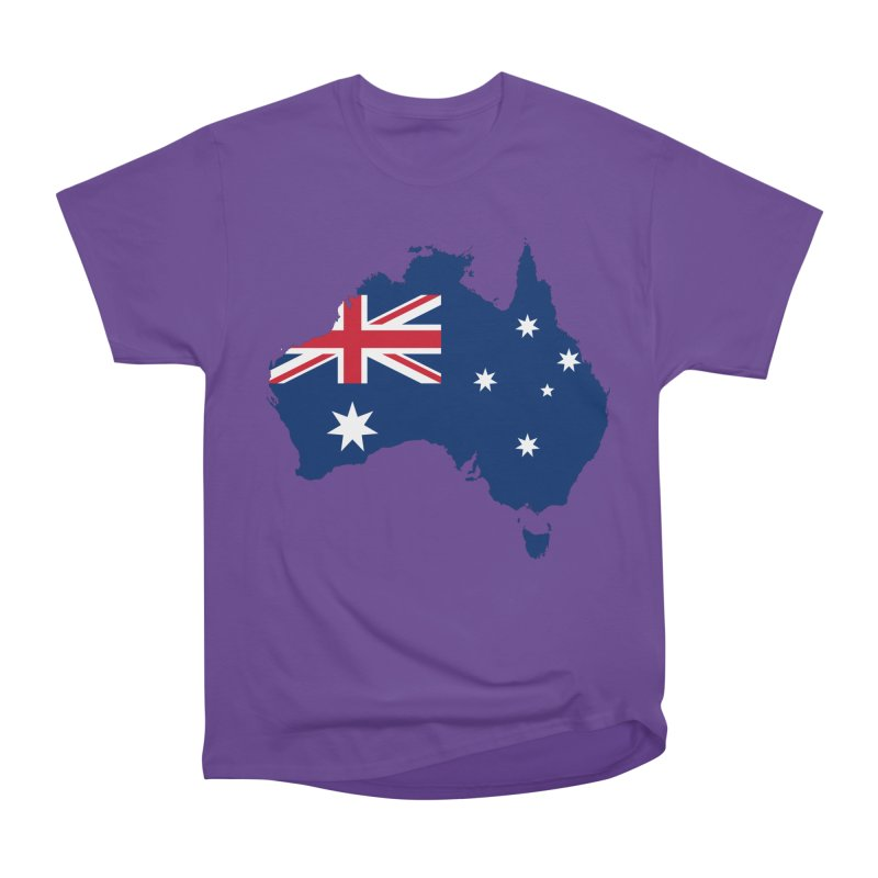 Australian Patriot Apparel & Accessories Men's Heavyweight T-Shirt by Vectors NZ