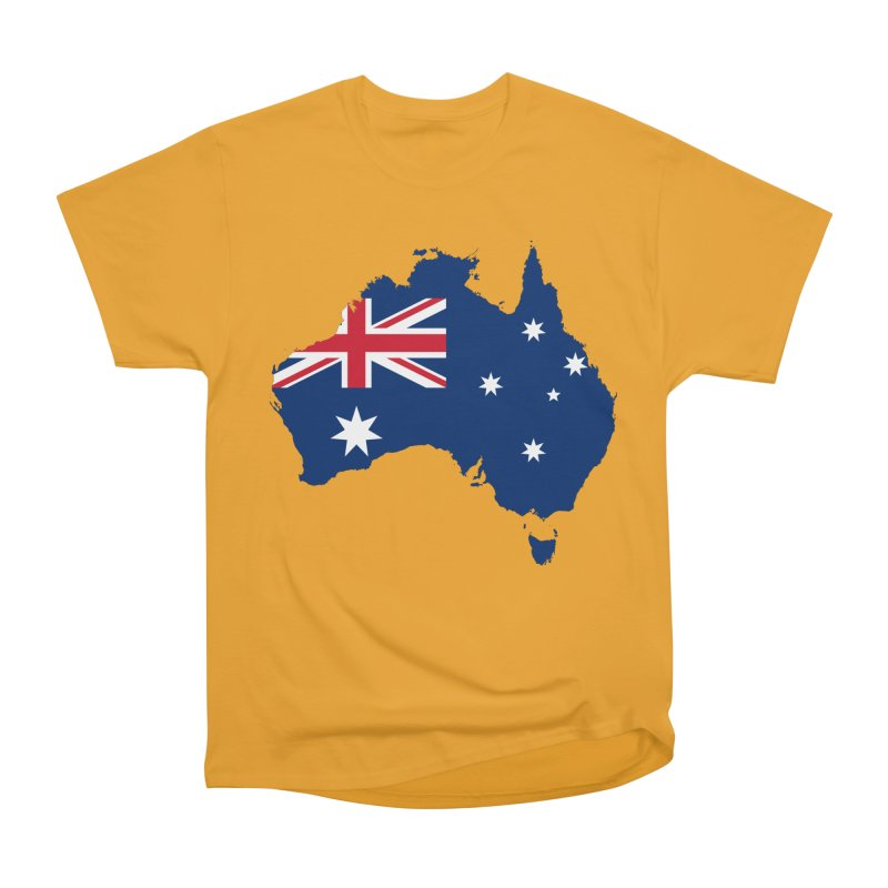 Australian Patriot Apparel & Accessories Women's Heavyweight Unisex T-Shirt by Vectors NZ