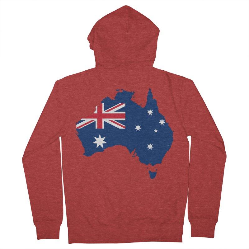 Australian Patriot Apparel & Accessories Men's French Terry Zip-Up Hoody by Vectors NZ