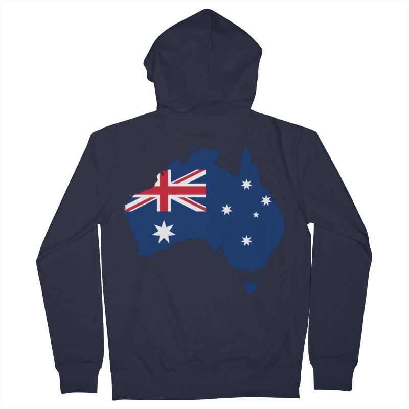 Australian Patriot Apparel & Accessories Men's French Terry Zip-Up Hoody by Vectors NZ