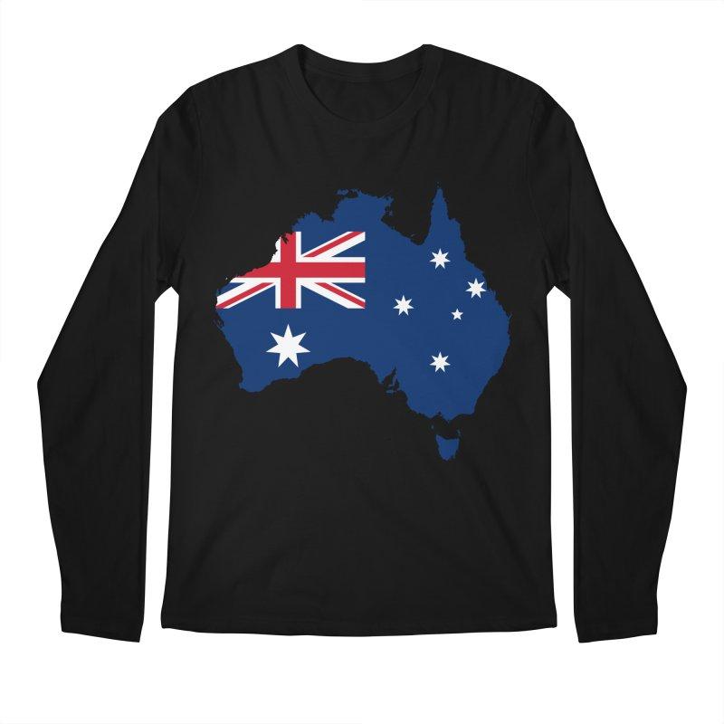 Australian Patriot Apparel & Accessories Men's Regular Longsleeve T-Shirt by Vectors NZ