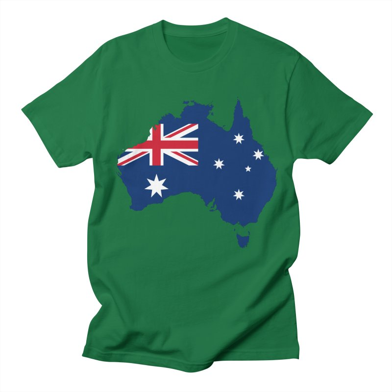 Australian Patriot Apparel & Accessories Men's Regular T-Shirt by Vectors NZ