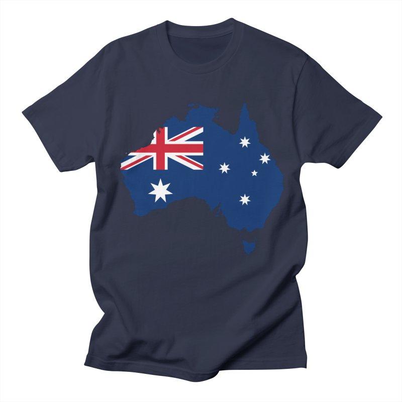 Australian Patriot Apparel & Accessories Men's Regular T-Shirt by Vectors NZ