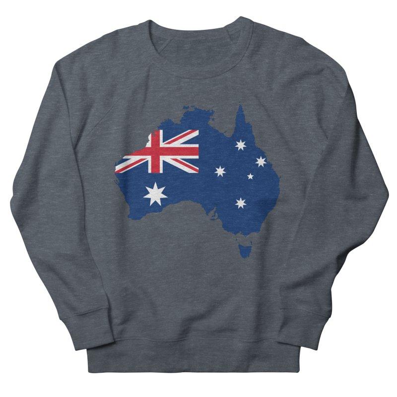 Australian Patriot Apparel & Accessories Men's French Terry Sweatshirt by Vectors NZ