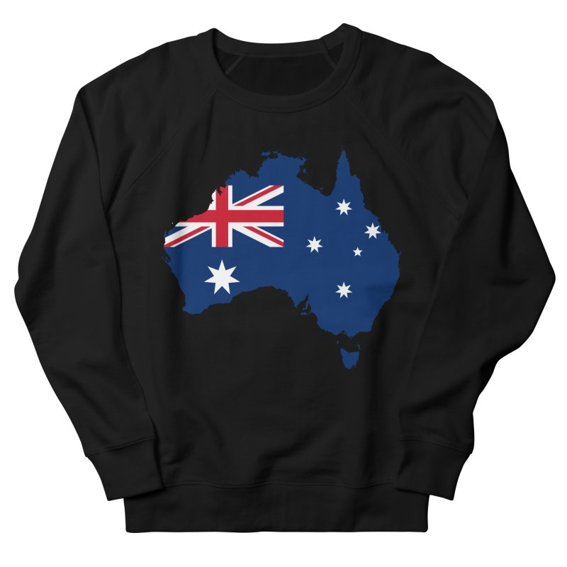 Australian Patriot Apparel & Accessories Men's French Terry Sweatshirt by Vectors NZ
