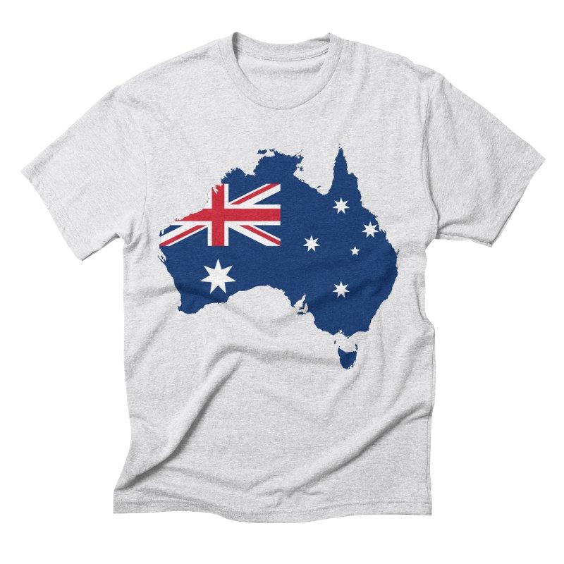 Australian Patriot Apparel & Accessories Men's Triblend T-Shirt by Vectors NZ