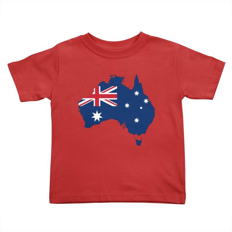 Australian Patriot Apparel & Accessories Kids Toddler T-Shirt by Vectors NZ
