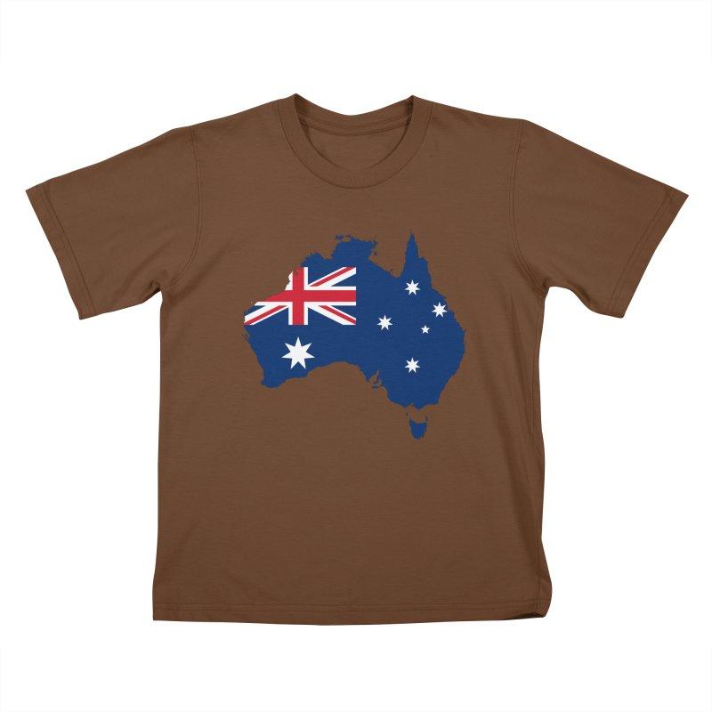 Australian Patriot Apparel & Accessories Kids T-Shirt by Vectors NZ