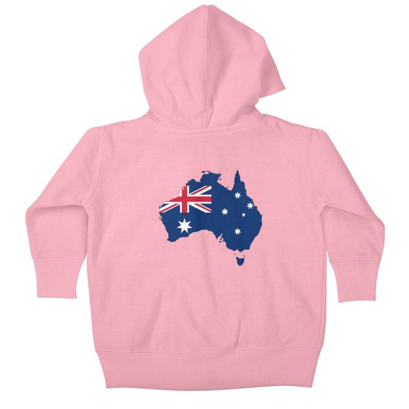 Australian Patriot Apparel & Accessories Kids Baby Zip-Up Hoody by Vectors NZ