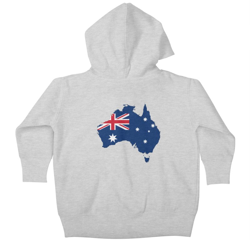 Australian Patriot Apparel & Accessories Kids Baby Zip-Up Hoody by Vectors NZ