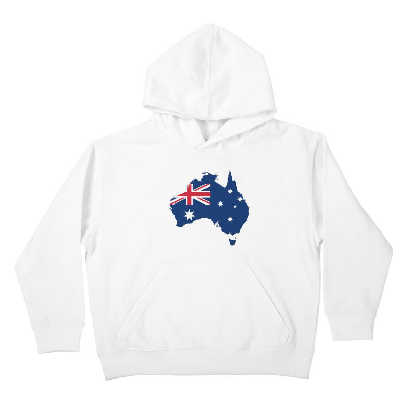 Australian Patriot Apparel & Accessories Kids Pullover Hoody by Vectors NZ