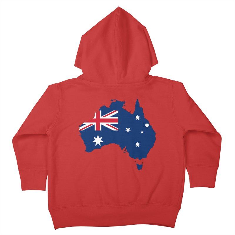 Australian Patriot Apparel & Accessories Kids Toddler Zip-Up Hoody by Vectors NZ