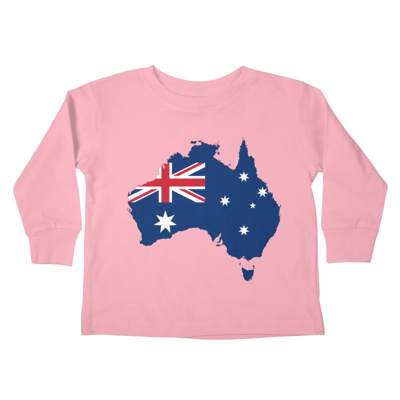 Australian Patriot Apparel & Accessories Kids Toddler Longsleeve T-Shirt by Vectors NZ