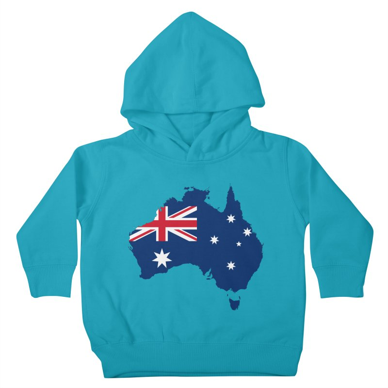 Australian Patriot Apparel & Accessories Kids Toddler Pullover Hoody by Vectors NZ