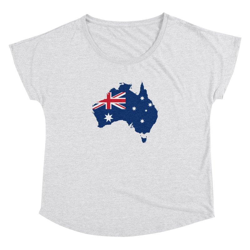 Australian Patriot Apparel & Accessories Women's Dolman Scoop Neck by Vectors NZ