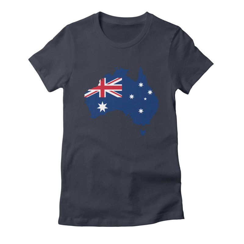 Australian Patriot Apparel & Accessories Women's Fitted T-Shirt by Vectors NZ