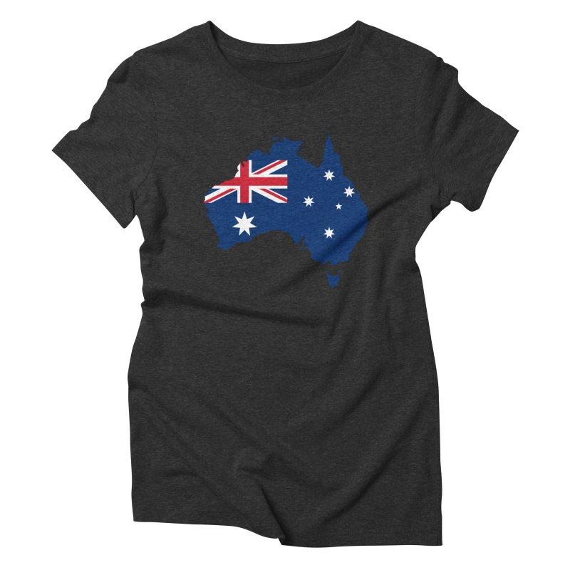 Australian Patriot Apparel & Accessories Women's Triblend T-Shirt by Vectors NZ