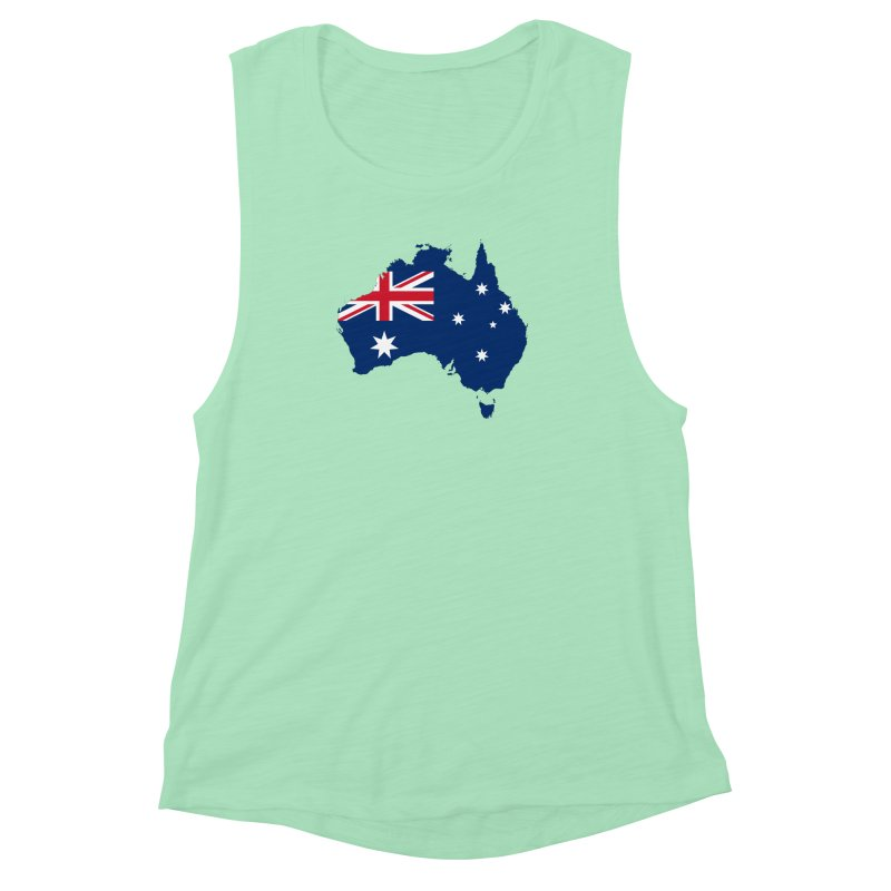 Australian Patriot Apparel & Accessories Women's Muscle Tank by Vectors NZ