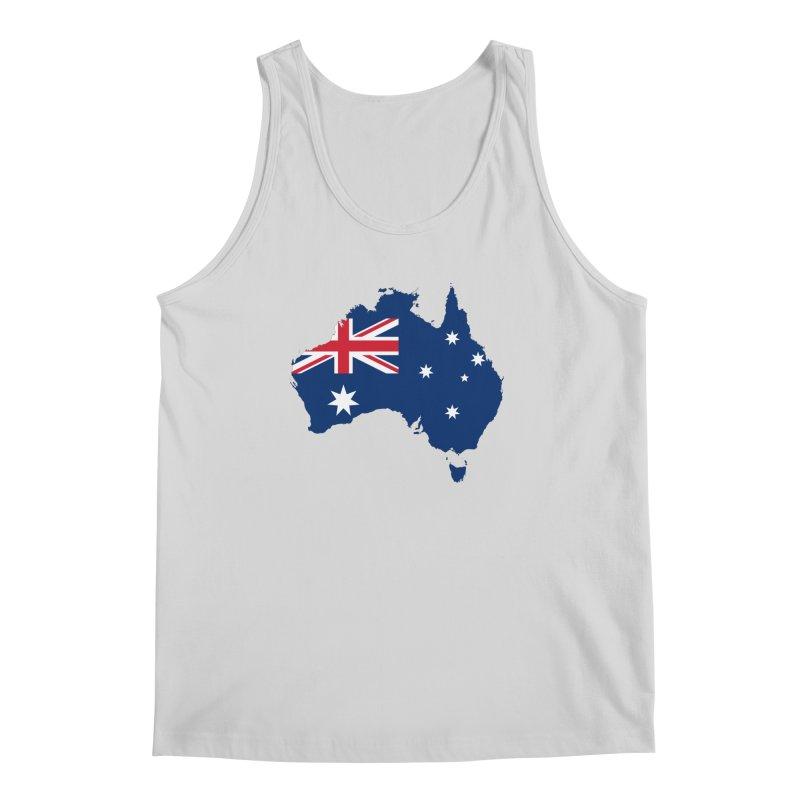 Australian Patriot Apparel & Accessories Men's Regular Tank by Vectors NZ