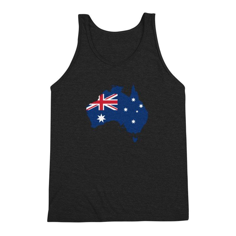 Australian Patriot Apparel & Accessories Men's Triblend Tank by Vectors NZ