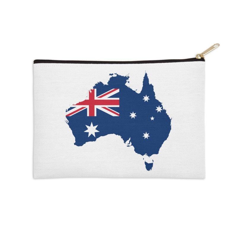 Australian Patriot Apparel & Accessories Accessories Zip Pouch by Vectors NZ