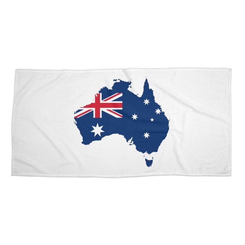 Australian Patriot Apparel & Accessories Accessories Beach Towel by Vectors NZ