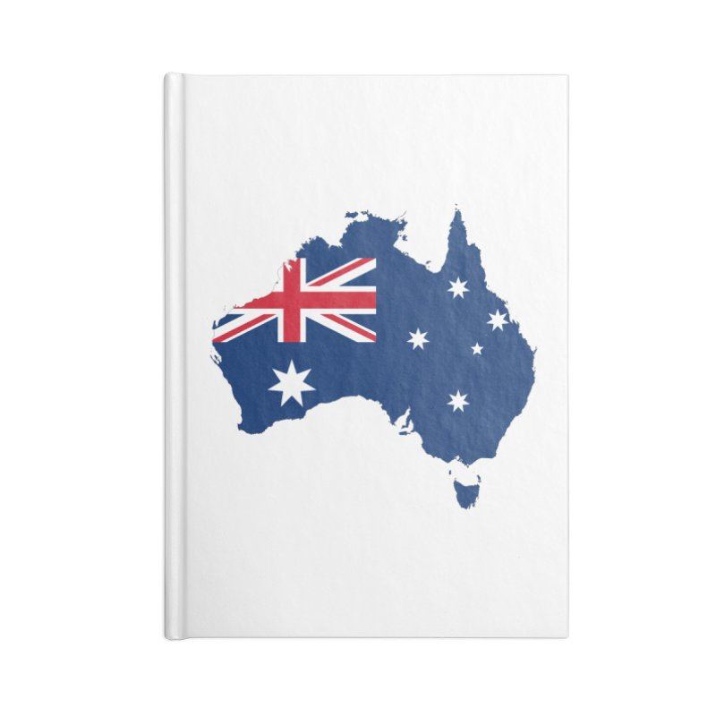 Australian Patriot Apparel & Accessories Accessories Blank Journal Notebook by Vectors NZ
