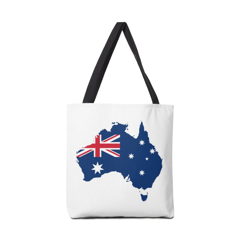 Australian Patriot Apparel & Accessories Accessories Tote Bag Bag by Vectors NZ