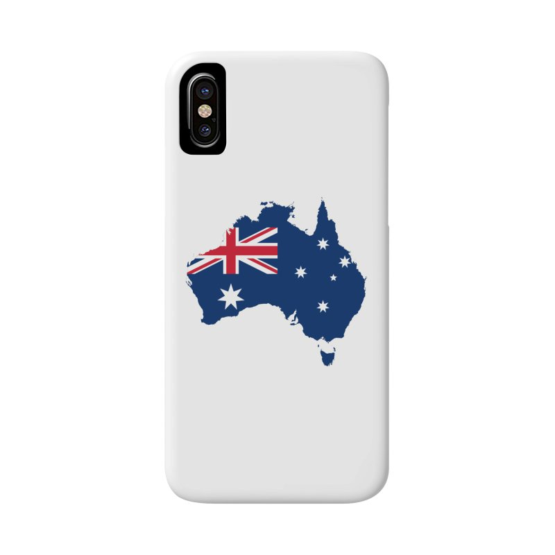 Australian Patriot Apparel & Accessories Accessories Phone Case by Vectors NZ